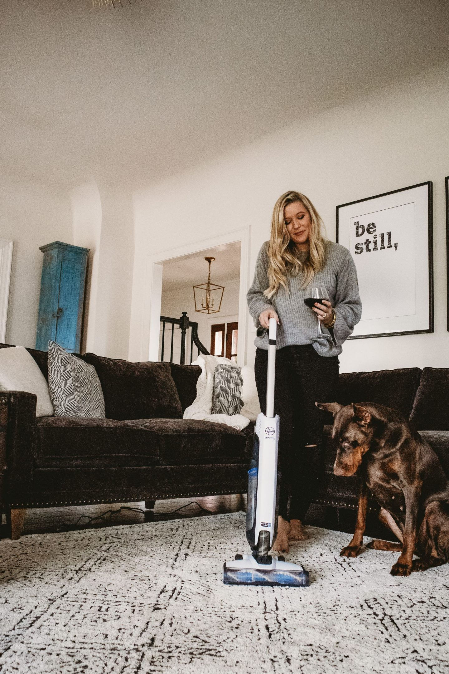 The Hoover ONEPWR Evolve Pet Cordless Vacuum